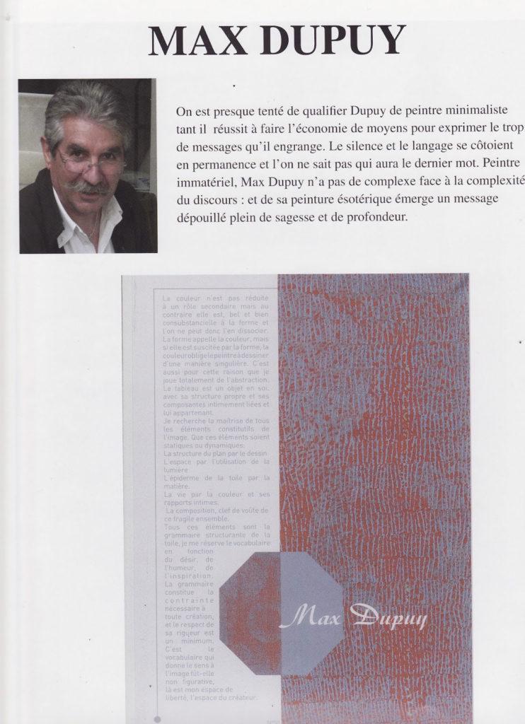 """""""LE FORUM DES ARTS PLASTIQUES"""" Février 2011"""