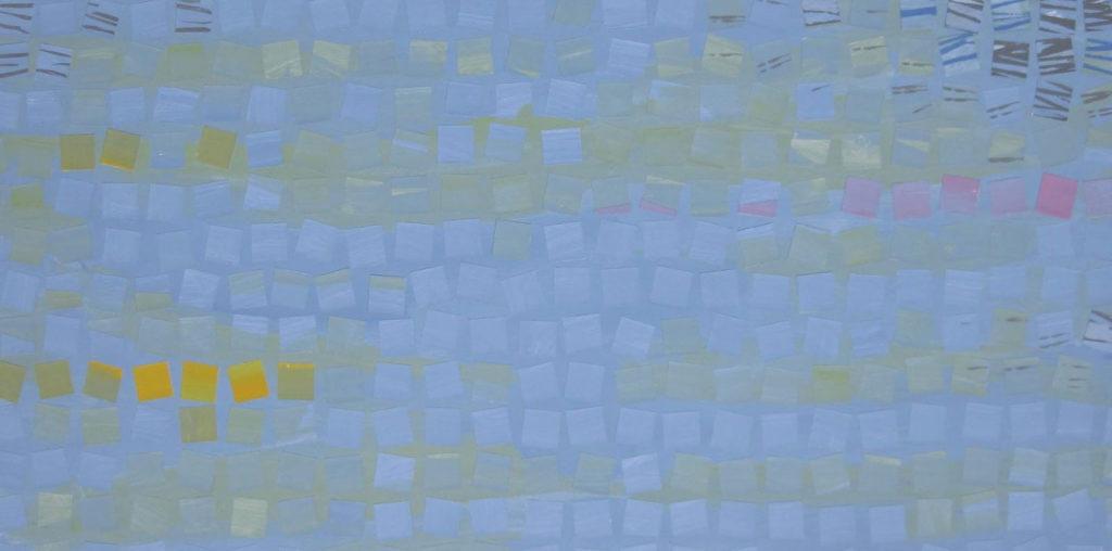 Loire en robe bleue
